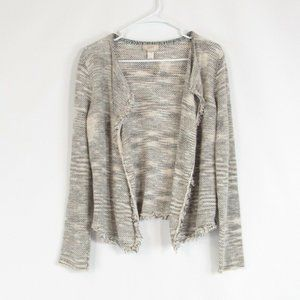 Light beige ANN TAYLOR LOFT cardigan sweater M